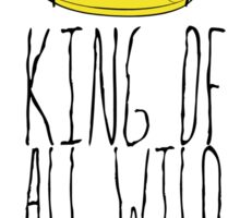 Where the Wild Things Are - King of All Wild Things 2 Sticker Sticker