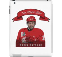 Pavel Datsyuk - The Magic Man iPad Case/Skin