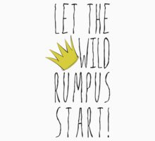 Where the Wild Things Are - Rumpus Start Crown Cutout Kids Clothes