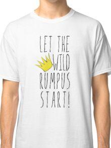 Where the Wild Things Are - Rumpus Start Crown Cutout Classic T-Shirt