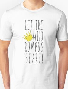 Where the Wild Things Are - Rumpus Start Crown Cutout Unisex T-Shirt