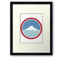 Mount Fuji Framed Print