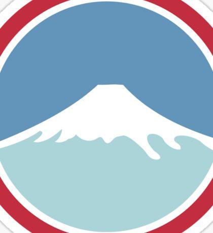 Mount Fuji Sticker