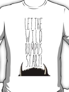 Where the Wild Things Are - Rumpus Start Cutout T-Shirt