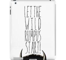 Where the Wild Things Are - Rumpus Start Cutout iPad Case/Skin