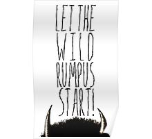 Where the Wild Things Are - Rumpus Start Cutout Poster