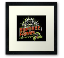 Greetings From Rupture Farms Framed Print