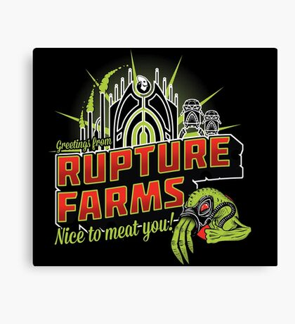 Greetings From Rupture Farms Canvas Print