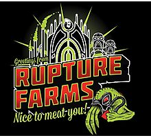 Greetings From Rupture Farms Photographic Print
