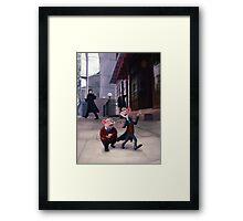Baker Street V2 Framed Print