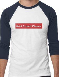 Real Crowd Pleaser Men's Baseball ¾ T-Shirt