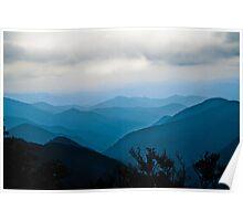 Blue Ridge Parkway - North Carolina Poster