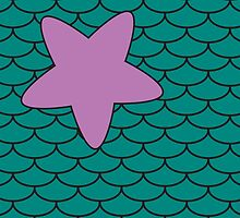 Mermaid Print  by Jdunleavy95