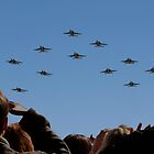 F 18 Jets Returning Home by Buckwhite