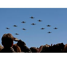 F 18 Jets Returning Home Photographic Print