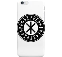Odin's Protection No.1 (black) iPhone Case/Skin
