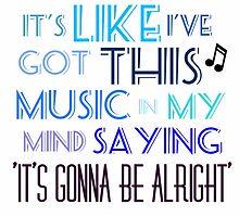 Shake it off- Taylor Swift by qu1rky