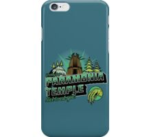 Greetings From Paramonia Temple iPhone Case/Skin