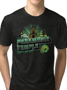 Greetings From Paramonia Temple Tri-blend T-Shirt
