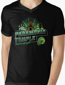 Greetings From Paramonia Temple Mens V-Neck T-Shirt