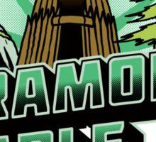 Greetings From Paramonia Temple Sticker