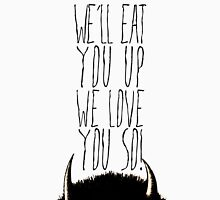 Where the Wild Things Are - We'll Eat You Up Cutout Unisex T-Shirt