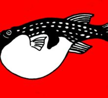 Japanese Fugu - blow fish Trust in the cook  Sticker