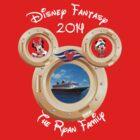 Custom Disney Fantasy The Ryan Family by sweetsisters