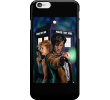 Doctor Who-River and The Doctor iPhone Case/Skin