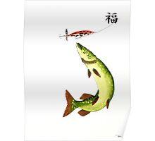 Striking Pike Poster