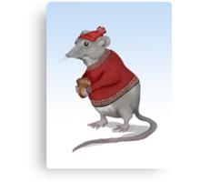 The Grateful Mouse  Canvas Print