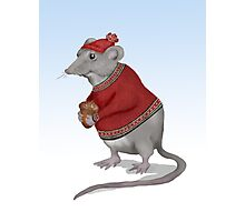The Grateful Mouse  Photographic Print