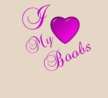 I LOVE MY BOOBS Womens Fitted T-Shirt