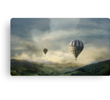 Following Strange Flights. Canvas Print