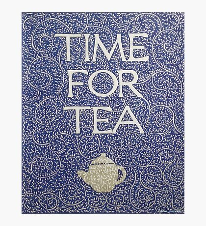 Time For Tea 2017 Photographic Print