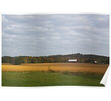 FARM FIELDS Poster