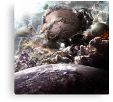 Planetfall Canvas Print