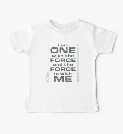 Force is with Me - Blue Baby Tee