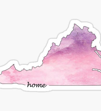 Virginia is my Home 2 Sticker