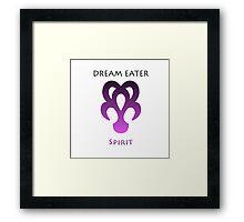 Dream Eater //Spirit// - Simplistic  Framed Print