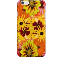 Mixed Flowers  iPhone Case/Skin