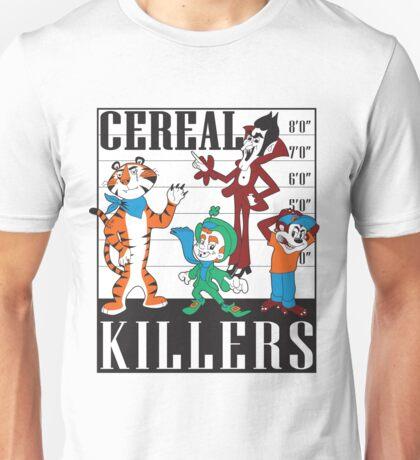Cereal Killers Nerd Universitee T-Shirt Unisex T-Shirt