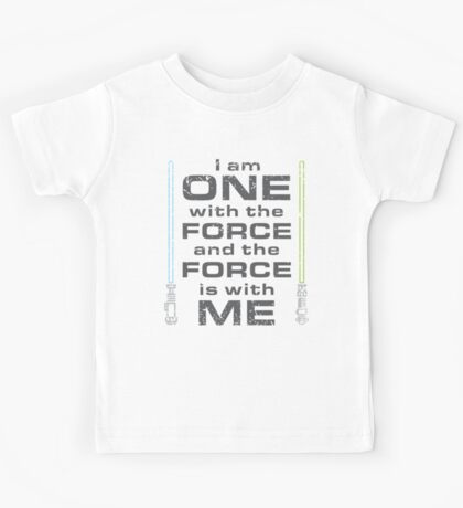 Force is with Me - Both Kids Tee