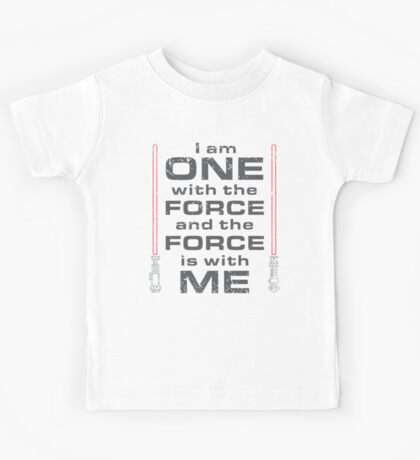 Force is with Me - Red Kids Tee