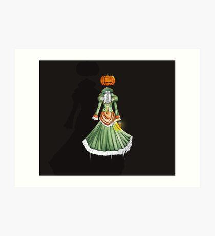 Jack-o'-Lantern Art Print