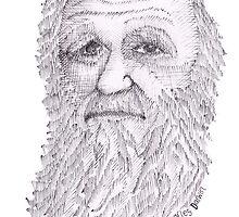 Charles Darwin by rosiec
