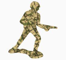 Queenouflage Army Man Original Kids Tee