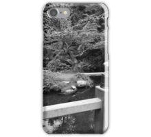 Still Time. Kubota Japanese Gardens, Renton, WA iPhone Case/Skin
