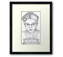 Rosa Parks Framed Print