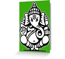Ganesh Ganesa Ganapati 4 (2 colors) Greeting Card